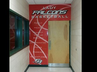 Wall wrap at FBHS