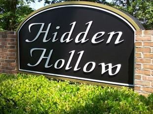 Routed Neighborhood Sign