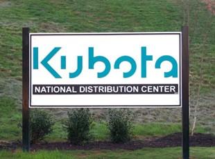 Kubota Routed Sign
