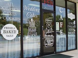 Bakery Window Lettering
