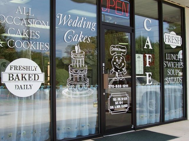 Outdoor Vinyl Window Graphics Amp Lettering Signs By