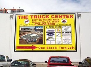 30 foot Full Color Decal for Building
