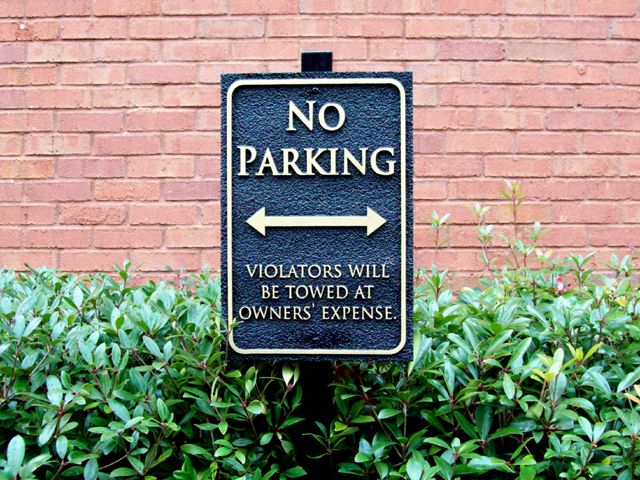 Parking Signs & Street Signs