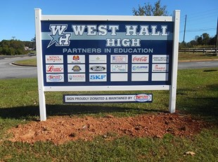 West Hall Partner in Ed