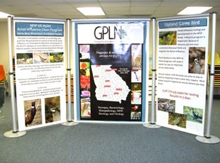 GA Poultry Lab Tradeshow Booth