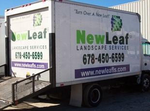 New Leaf box truck