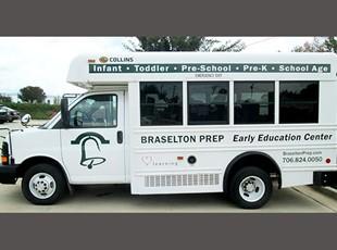 Braselton Prep bus