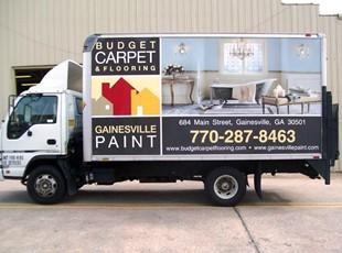 Gainesville Paint truck