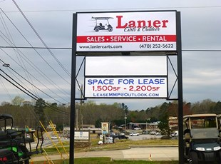 Lighted Signs - Outdoor    Monument Signs   Retail   Oakwood, GA