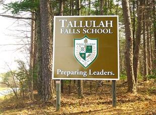 Metal Signs | Post & Panel | Education | Tallulah Falls, GA
