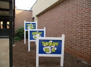 Post & Panel Signs | Yard & Sidewalk Signs | Schools, Colleges & Universities