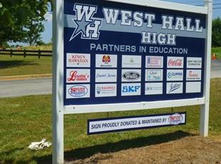 Post & Panel Signs | Metal Signs | Education | Oakwood, GA