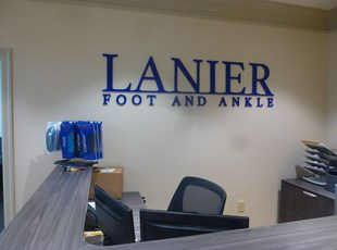 Reception & Office Signage   Indoor Dimensional Lettering