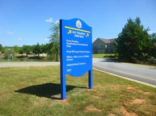 Directional Signs | Post & Panel Signs | Education