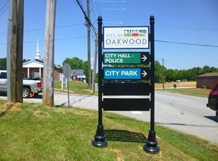 Directional Signs | Post & Panel Signs | Oakwood, GA