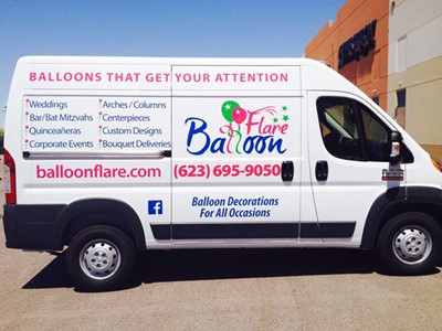 5ec48302f9 Custom Delivery Van Vinyl Graphics Peoria