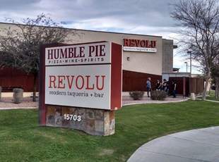 Monument Sign Panels Peoria P83